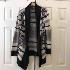 Sweaters - Tribal long cardigan